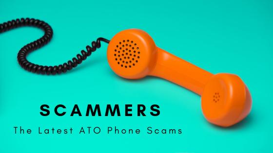 accountants central coast ATO Scammers orange phone reciever