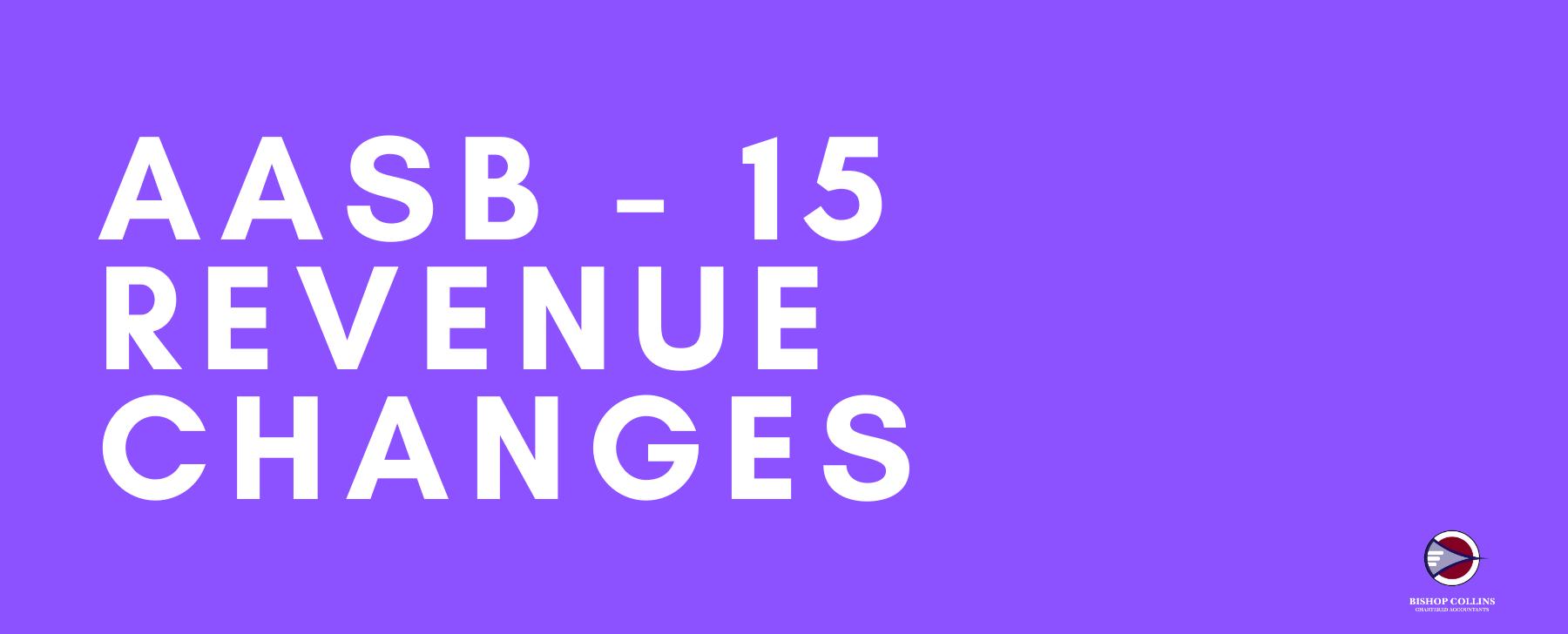 AASB-15 Revenue Changes