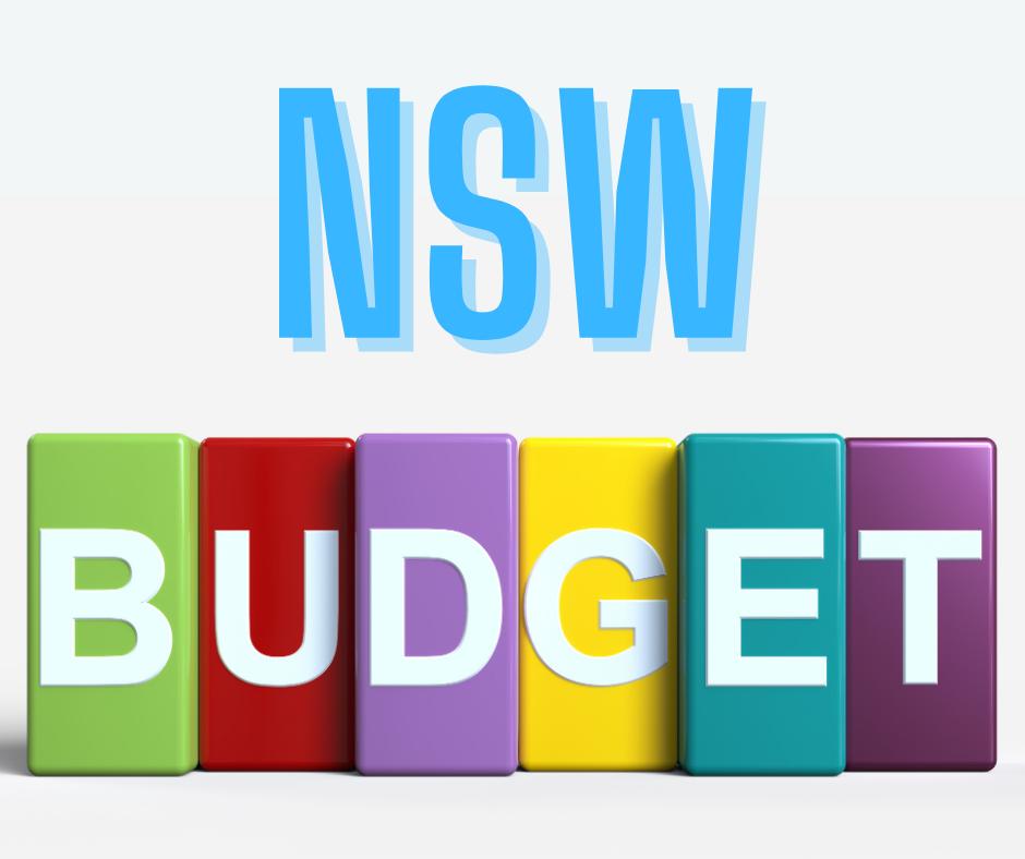 Nsw State Budget Summary