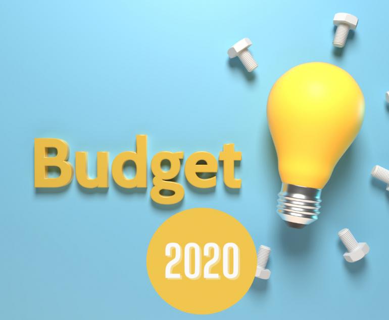 budget 2020 summary