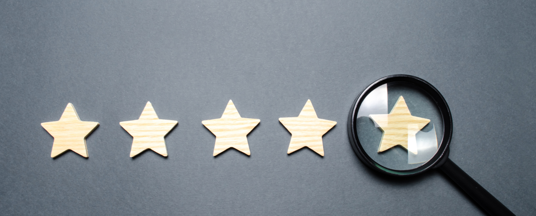 5 stars enhanced credibility from an audit