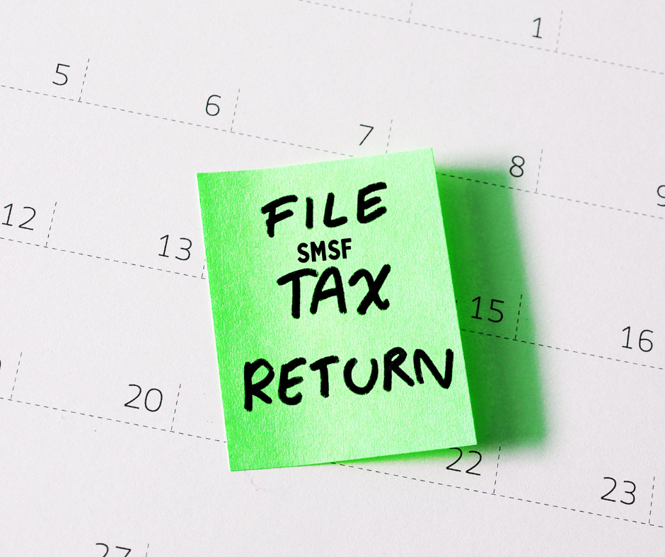 smsf tax return lodgement