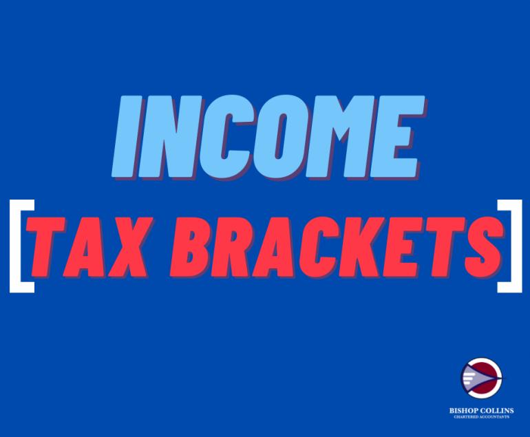 Income Tax Brackets | Bishop Collins