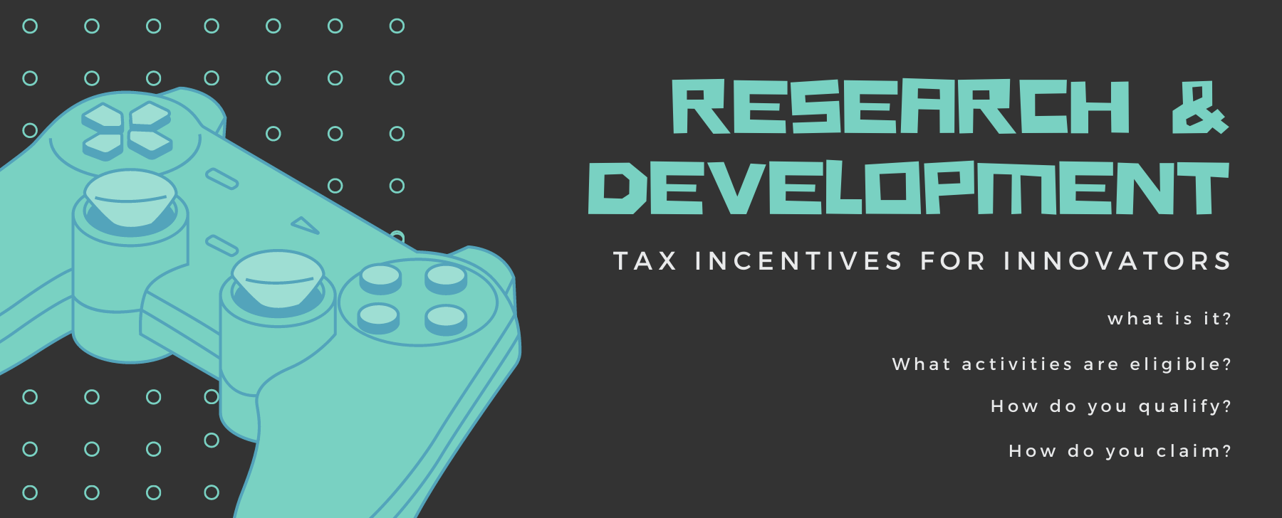 research and development tax incentives